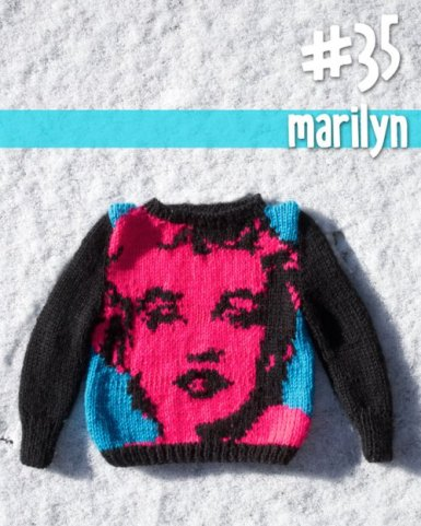 (image used with permission) #35 Marilyn - http://100babysweaterpatterns.com/portfolio/34-marilyn/