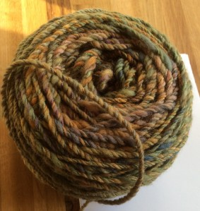 Nubbly yarn
